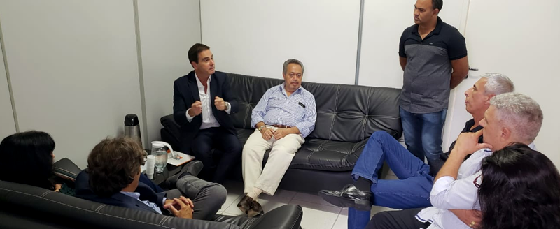 Presidente do SinHoRes Osasco – Alphaville e Região se reúne com secretários da SICA e SECONTRU