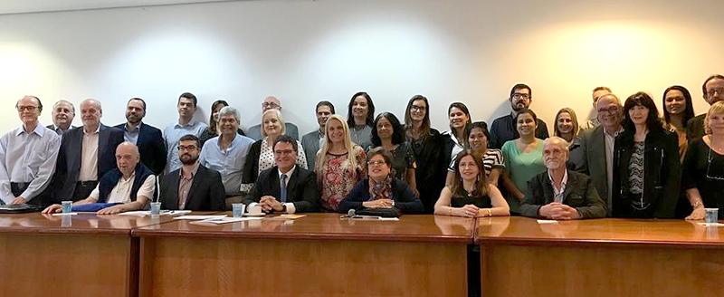Presidente Edson Pinto participa de reunião do CONTURESP