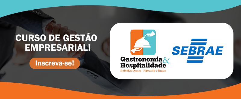 SinHoRes Osasco – Alphaville e Região, em parceria com SEBRAE, oferece CURSO DE GESTÃO EMPRESARIAL