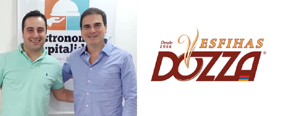 Rede de restaurantes Esfihas Dozza é o novo associado do  SinHoRes Osasco – Alphaville e Região e integra diretoria técnica do sindicato