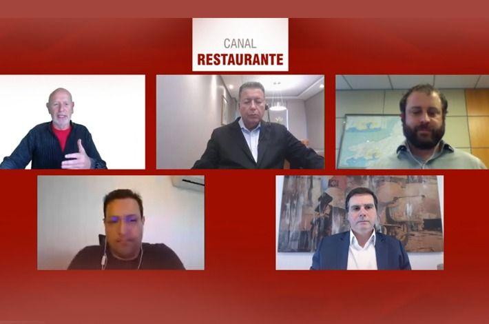 Em live do Canal Restaurante, Edson Pinto faz um balanço da crise causada pela pandemia no setor de food service e fala sobre perspectivas para recuperação