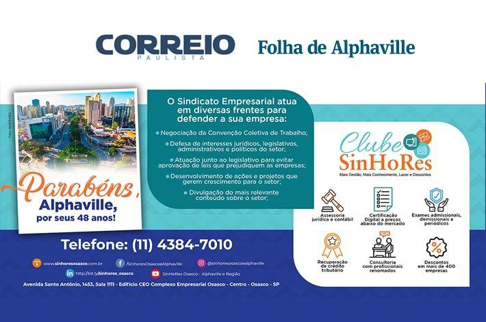 SinHoRes na Mídia: Parabéns, Alphaville!